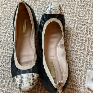 Louise et Cie Ballet Flat - Size 9 - Black Leather